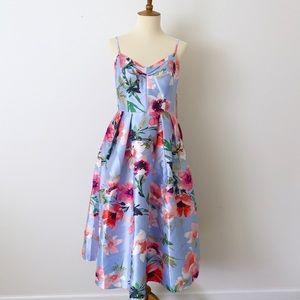Eliza J Elegant Floral Dress